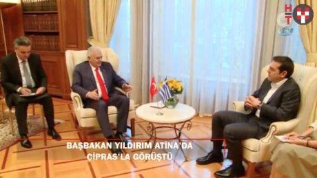 Başbakan Yıldırım Yunanistan'da