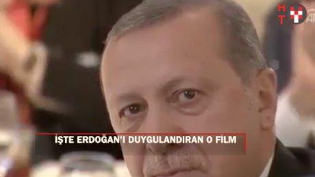 O tanıtım filmi Erdoğan'ı duygulandırdı
