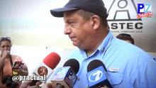 Kosta Rika Devlet Başkanı Luis Guillermo canlı yayında arı yuttu
