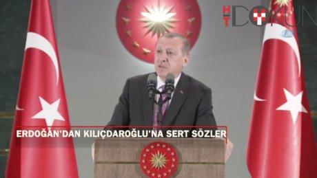 Erdoğan, Kılıçdaroğlu'nun 'yargıya talimat' sözüne ateş püskürdü