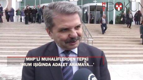 MHP'li muhaliflerin genel kuruluna mahkemeden ret