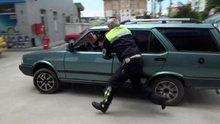 Bolu'da 11 yaşındaki sürücü, ateş edilerek durduruldu