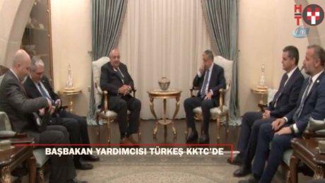 Başbakan Yardımcısı Tuğrul Türkeş KKTC'de