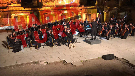 Viyana Oda Orkestrası'nın konserine davetsiz misafir