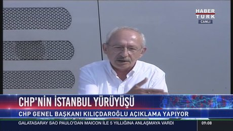 """Kemal Kılıçdaroğlu'nun """"Adalet Yürüyüşü""""nün 8. günü"""