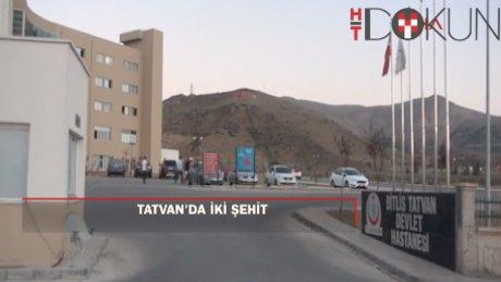 Bitlis'te çatışma: 2 şehit 1 yaralı