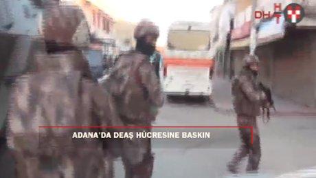 Adana'da DEAŞ'ın hücresine baskın: 7 gözaltı