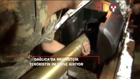 Dağlıca'da Mehmeçik teröristlerin inlerine giriyor
