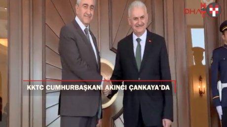 KKTC Cumhurbaşkanı Çankaya'da
