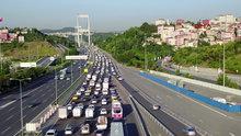 Fatih Sultan Mehmet Köprüsü'nde bayram trafiği