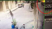 Bakırköy'deki patlama anı kamerada