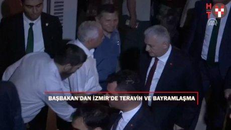 Başbakan Yıldırım, teravih namazını Kutlu Yalvaç Camisi'nde kıldı