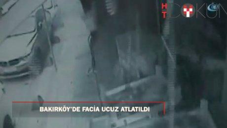 Bakırköy'de tüpgaz patladı: 1 yaralı.