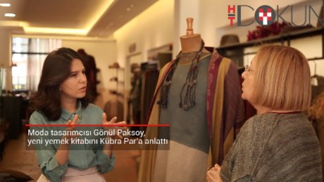 Moda tasarımcısı Gönül Paksoy Kübra Par'a konuştu