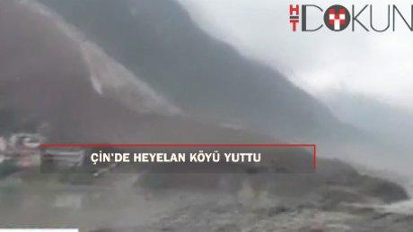 Çin'de heyalan köyü yuttu: 141 kayıp