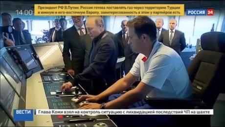 """Putin Türkçe """"İleri"""" dedi"""