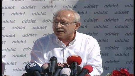 Kemal Kılıçdaroğlu, yürüyüşünün 11. gününde açıklamalarda bulundu