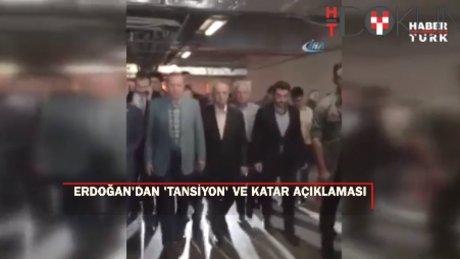 Cumhurbaşkanı Erdoğan bayram namazında kısa süreli rahatsızlık geçirdi