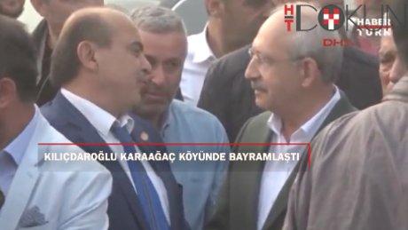 Kılıçdaroğlu bayram namazını Karaağaç köyünde kıldı