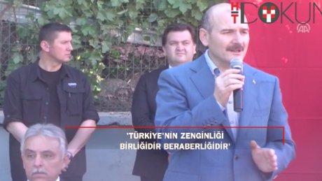 İçişleri Bakanı Bakan Soylu, bayramı Hakkari'de Mehmetçikle karşıladı.