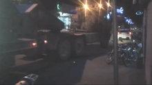 Kilis Afrin sınırına obüs topları sevkiyatı yapıldı