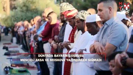 İslam aleminde Ramazan Bayramı coşkusu