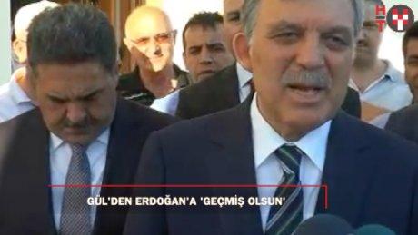 11'inci Cumhurbaşkanı Gül, bayram namazını Marmara İlahiyat Camii'nde kıldı