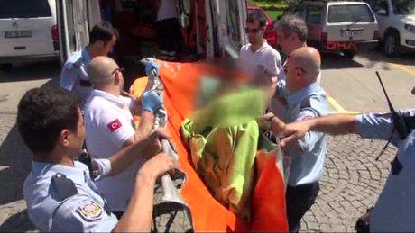 Haliç Metro Köprüsü'nden atlayan genç kızı teknedekiler kurtardı