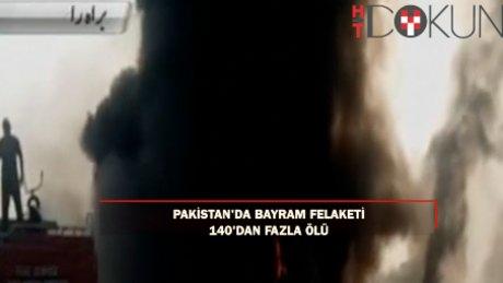 Pakistan'da facia: Bir kap benzin için öldüler