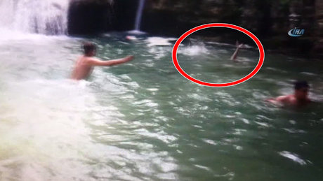Samsun'da şelalede yüzmek isteyen Ercan Yılmaz boğularak hayatını kaybetti
