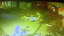 Bonzai içen taksici önüne geleni ezdi