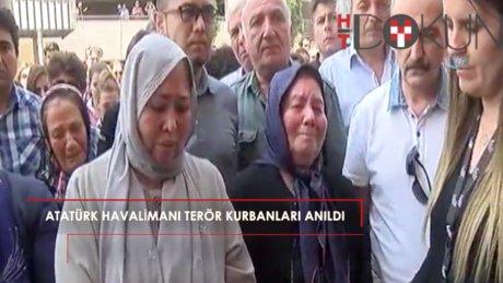 Atatürk Havalimanı kurbanları anıldı