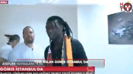 Yeni aslan Gomis İstanbul'a geldi