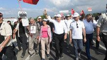 Kılıçdaroğlu'nun yürüyüşünün 14. günü