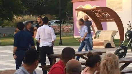 Tekirdağ'da çocuk parkında falçatalı kavga