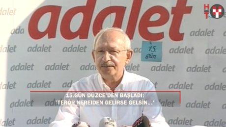 """Kılıçdaroğlu: """"Terör kimden gelirse gelsin, hepimizin...'"""