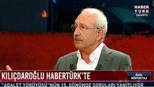 Kemal Kılıçdaroğlu Habertürk TV'de