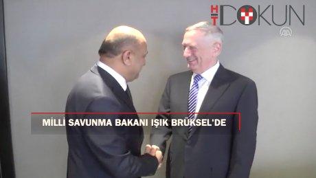 Fikri Işık Brüksel'de NATO toplantısında