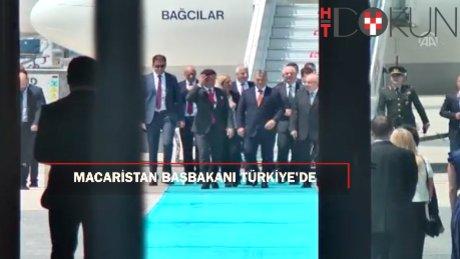 Macaristan Başbakanı Orban Türkiye'de