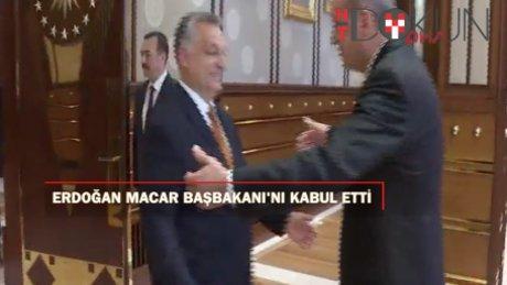 Erdoğan'ın yoğun günü: Orban'ı kabul etti, AK Parti MKYK'yı topladı