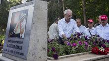 Kılıçdaroğlu, Şehit Emniyet Müdürü Gaffar Okkan'ın mezarını ziyaret etti