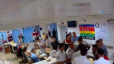 Hastaneyi bıçaklarla basan grubu jandarma dağıttı