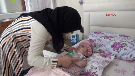 SMA hastası Zeynep bebek, yaşama tutunamadı