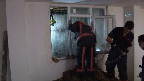 Esenyurt'taki binada göçük: 1 ölü