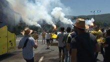Fenerbahçe'yi Düzce'de taraftarlar karşıladı