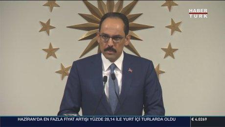 İbrahim Kalın: Demokrasi nöbeti başlatılacak, Erdoğan da katılacak