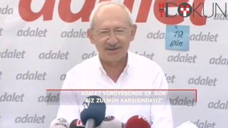 """Kılıçdaroğlu: """"Biz zulmün karşısındayız. Zulüm ile abad olunmaz"""""""