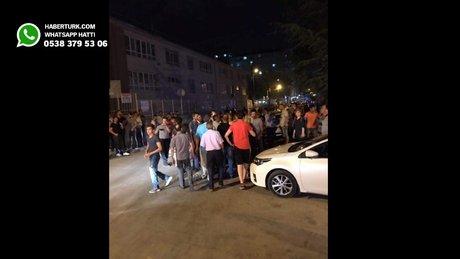 Ankara'da Suriyeliler ile Türkler arasında gerginlik
