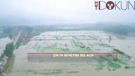 Çin'de sel felaketi: 14 ölü