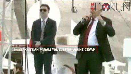 Başbakan Yıldırım'dan paralı yol eleştirilerine cevap
